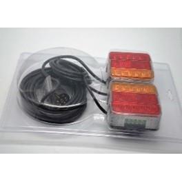 Lampy tylne komplet 2szt JH 101-A